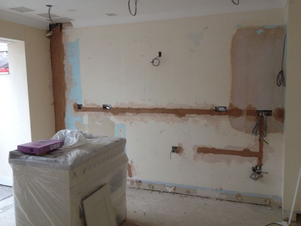 2014 03 18 Kitchen Utility Room Wall Preparation 003