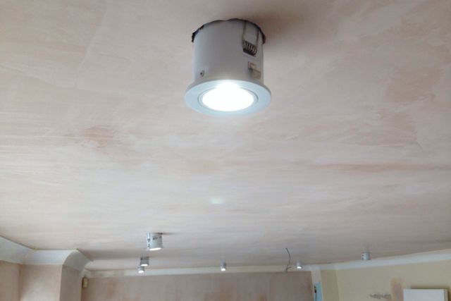 Light is an important element in planning any kitchen, our electrician makes it all work