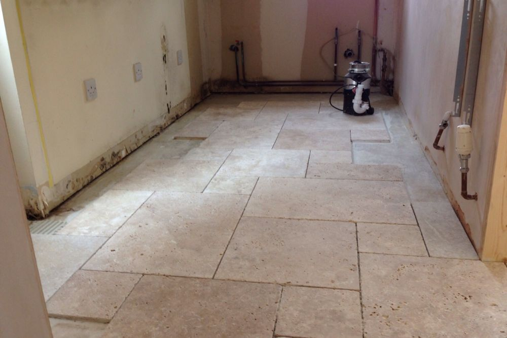 Natural stone flooring gives a beuatiful natural lustre and lasts a lifetime
