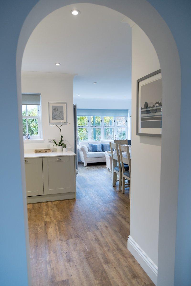 image showing Detail of house refurbishment montagu gdns