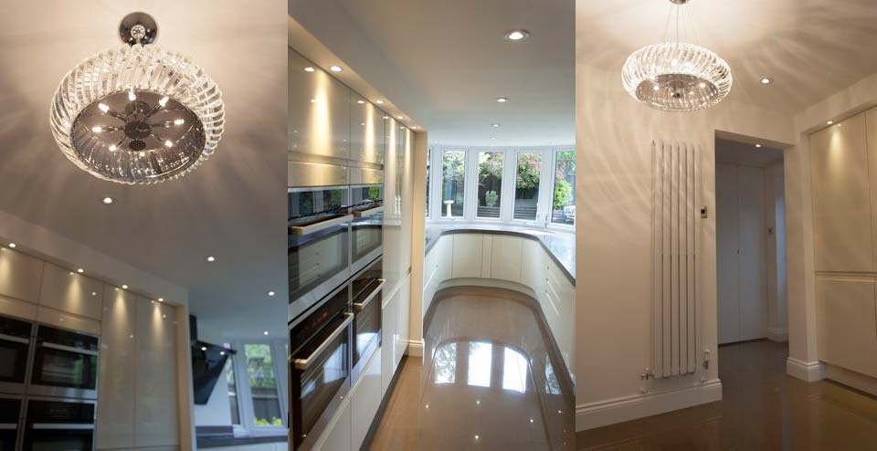 Image of Notley Kitchen Lighting Composite