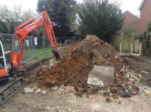 Image of Witham New Build Project:  Groundworks Commence